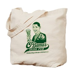 Obama's Irish Pub Tote Bag