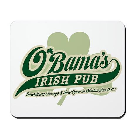 Obama's Irish Pub Mousepad