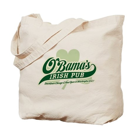 Obama's Irish Pub Tote Bag