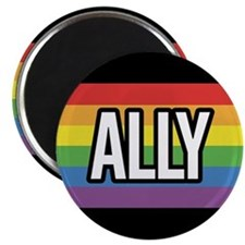 ALLY 2.25 inch Magnet (100 pack)