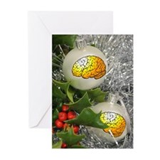 BrainWare Ornaments Greeting Cards (Pk of 10)