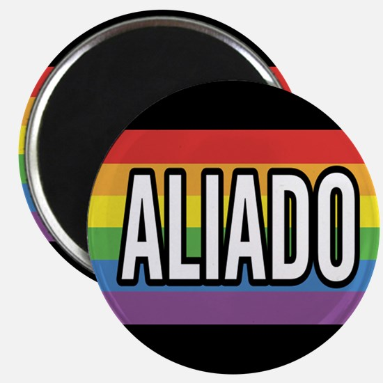 ALLY 2.25 inch Magnet - Spanish