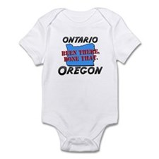 ontario oregon - been there, done that Infant Body