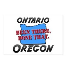 ontario oregon - been there, done that Postcards (