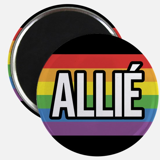ALLY 2.25 inch Magnet - French
