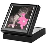 Lhasa Apso Rescue Keepsake Box