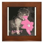 Lhasa Apso Rescue Framed Tile