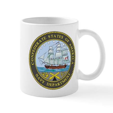 Seal of the Confederate Navy Mug