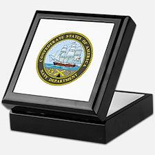 Seal of the Confederate Navy Keepsake Box