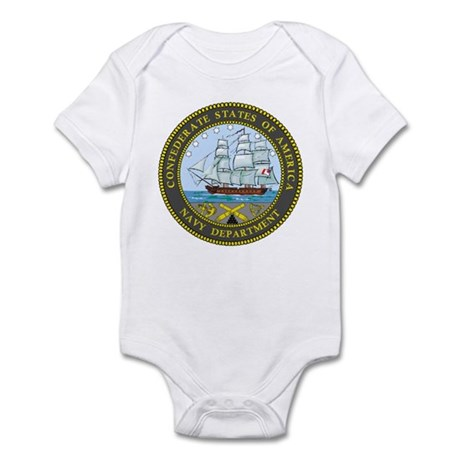Seal of the Confederate Navy Infant Bodysuit