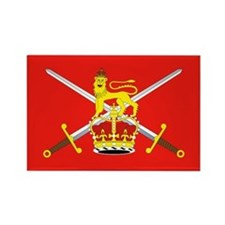 British Army Rectangle Magnet