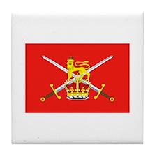 British Army Tile Coaster