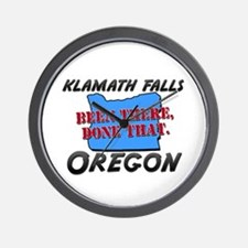 klamath falls oregon - been there, done that Wall