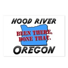 hood river oregon - been there, done that Postcard