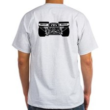 917 Front & Rear Black T-Shirt
