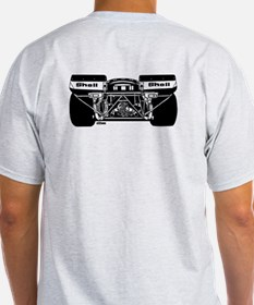 917 Front & Rear Black T-Shirt