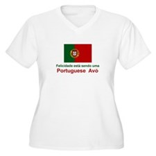 Happy Portuguese Avo (Grandmother) T-Shirt