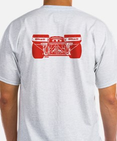 917 Front & Rear Red T-Shirt
