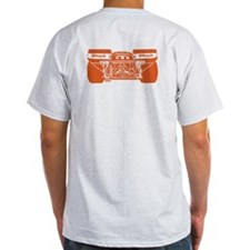 917 Front & Rear Orange T-Shirt