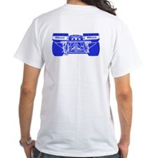 917 Front & Rear Blue Shirt