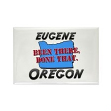 eugene oregon - been there, done that Rectangle Ma