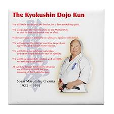 Cool Kyokushin Tile Coaster