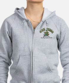 Gone Fishing - Hunting Season Zip Hoodie