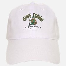 Gone Fishing - Hunting Season Baseball Baseball Cap