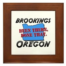brookings oregon - been there, done that Framed Ti