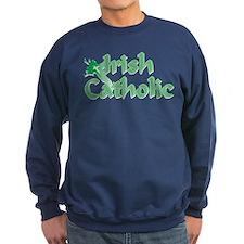 Irish Catholic Cross Sweatshirt