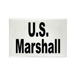 U.S. Marshall Rectangle Magnet (10 pack)
