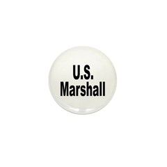 U.S. Marshall Mini Button (10 pack)