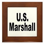 U.S. Marshall Framed Tile