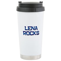 lena rocks Travel Mug