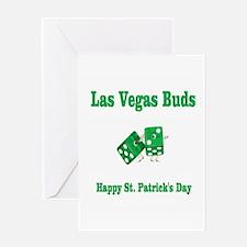 Las Vegas Buds St. Patrick's Day Card