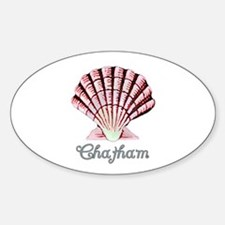 Chatham Shell Oval Decal