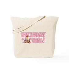 Birthday Girl 21 Tote Bag