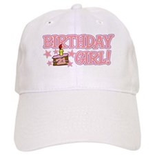 Birthday Girl 21 Baseball Cap