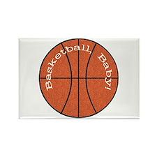 Basketball, Baby! Rectangle Magnet