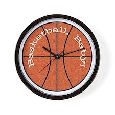 Basketball, Baby! Wall Clock
