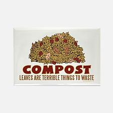 Composting Rectangle Magnet (10 pack)