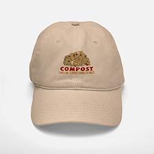Composting Baseball Baseball Cap
