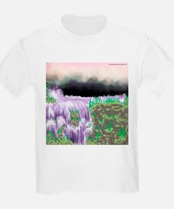 Ice Water River Purple T-Shirt