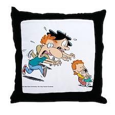 Cute Baby blues Throw Pillow