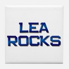 lea rocks Tile Coaster