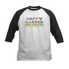 Happy Easter Egg Flowers Tee