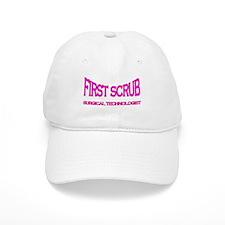 1st Scrub -pink Baseball Cap