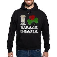 I Shamrock Love Barack Obama Hoodie