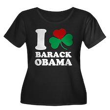 I Shamrock Love Barack Obama T