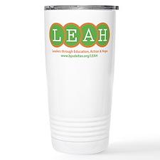 The LEAH Project Travel Mug